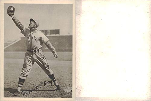 1936 National Chicle R311 Premium (Baseball) card#14 G14 Bill Terry of the New York Giants Grade very good/excellent