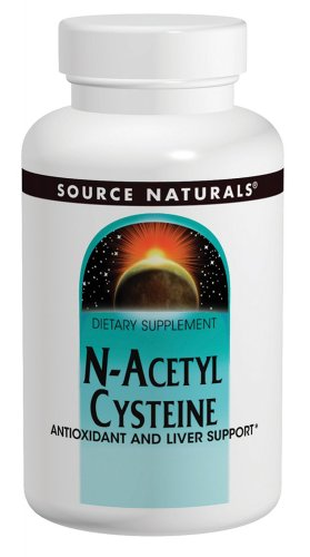 N-Acetyl Cysteine 600mg Source Naturals, Inc. 30 Tabs For Sale