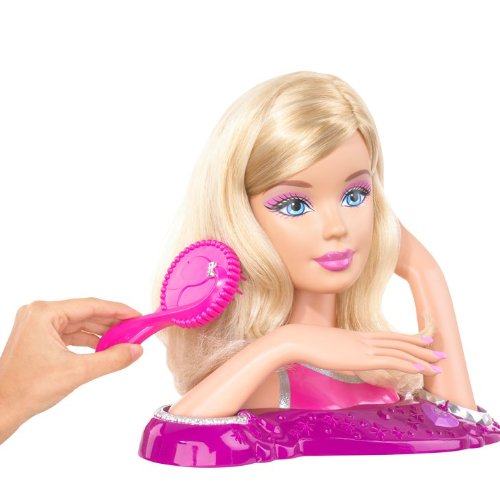 Fabulous Amazon Com Barbie Loves Beauty Styling Head Toys Amp Games Short Hairstyles Gunalazisus