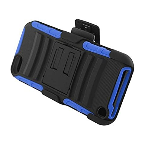 Eagle Cell Armor Case/Kickstand with Holster for iPod touch 5 (Ipod 5th Generation With Holster)