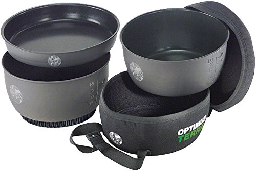 Optimus Terra HE 3 Pot Cook Set