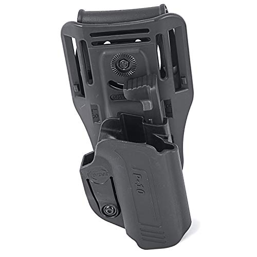Orpaz OWB Holster for CZ P10c Holster (Thumb Release, Low-Ride Holster) ()