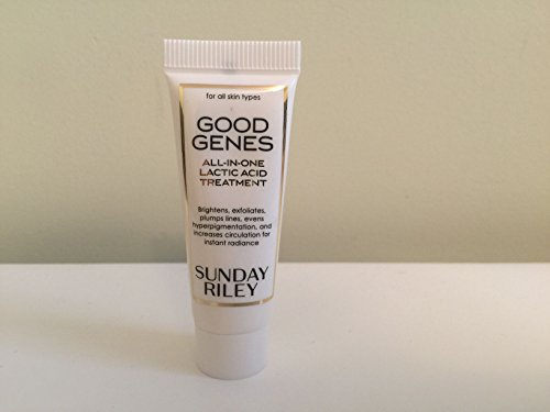 SUNDAY RILEY Good Genes All-In-One Lactic Acid Treatment, Deluxe Travel Size, , .33 oz