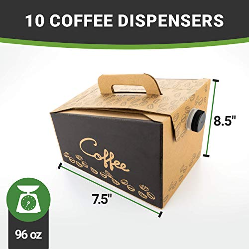 Coffee Take Out Carrier, Disposable Coffee Dispenser, Insulated Hot (12 Cup) 4