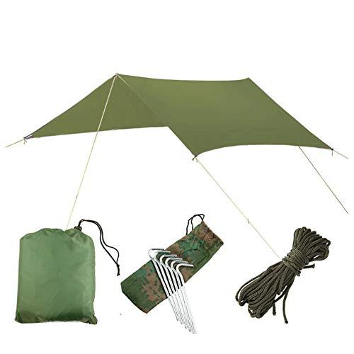 TOPofly 3 m* 3 m waterdichte hangmat regen vliegen tent Tarp voetafdruk camping onderdak gronddoek zonnescherm mat voor…