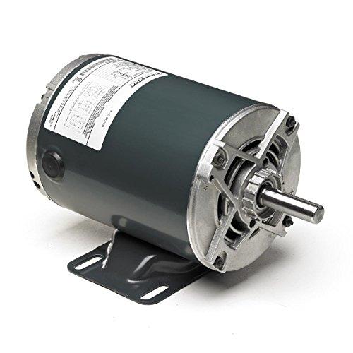 Marathon 145TTDR5703 Two Speed Two Winding Motor, Multi-Speed, 3 Phase, Open Drip Proof, Rigid Base, Ball Bearing, 1 hp, 1800/1200 RPM, 200-230 VAC, 145T Frame ()