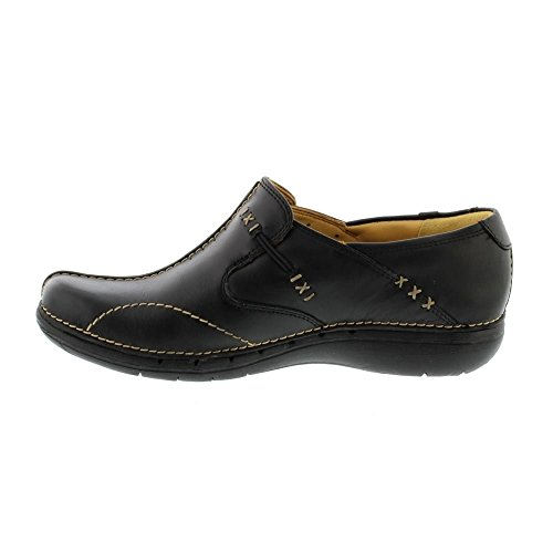 Black Leather lacets 203128374030 à Chaussures Loop femme Noir Clarks BUgx55