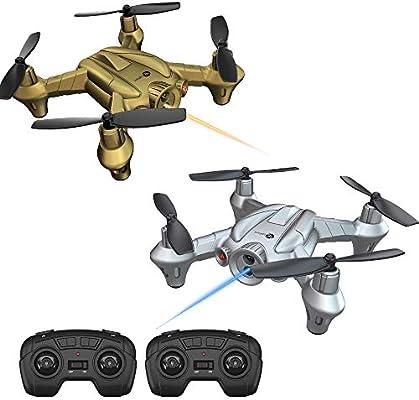 Lefant Mini RC Battle Drone Racing Nano Quadcopter Fighter Drones ...
