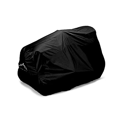 "Himal Outdoors Lawn Mower Cover -Tractor Cover Fits Decks up to 54"" Storage Cover Heavy Duty 210D Polyester Oxford, UV Protection Universal Fit with Drawstring & Cover Storage Bag"