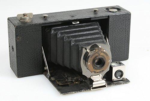 Eastman Kodak Brownie - EASTMAN KODAK NO 2 A FOLDING POCKET BROWNIE CAMERA W/BLACK BELLOWS 1909