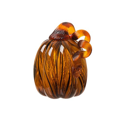 Pumpkin Glass - Glitzhome 6.3