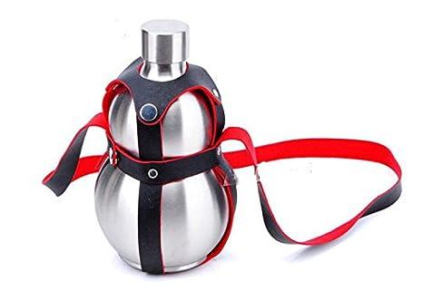 Amazon.com: Nueva llegada 64 oz calabaza de vino whisky ...