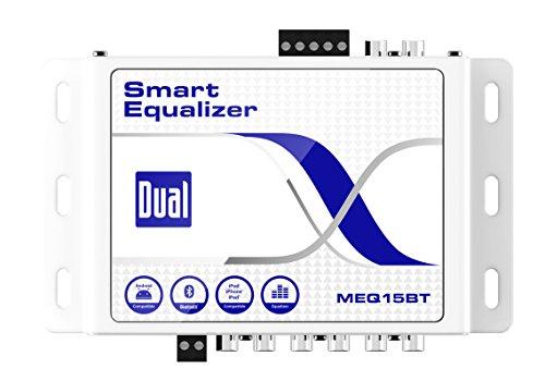 DUAL MEQ15BT Bluetooth Wireless Smart EQ Processor for Sm...