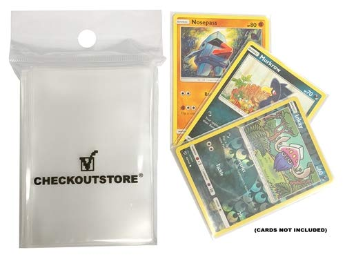 mediaxpo 16,000 Clear Protective Sleeves for Trading Cards Budget (66 x 91 mm)