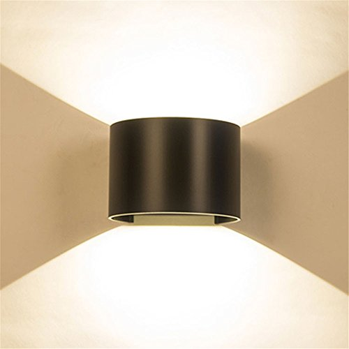 LED Wall Lights Wall Sconce Light Fixture Up Down Decorative Wall Lighting Led Wall lamp Over Road Corridor Indoor Outdoor Faux Water dimmable Lights