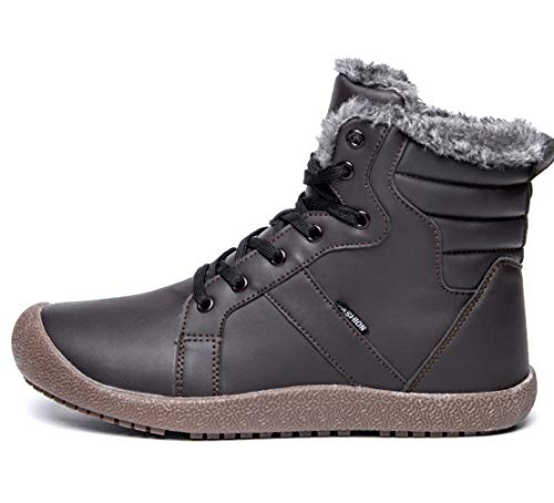 Werkzeug Plüsch Schuhe LIANGXIE Wanderschuhe Stiefel Leder Plus Frauen Stiefel Samt Outdoor Braun Verdickte Anti Ski Herren Warm Soft Rohr BwFawq