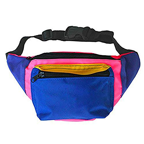MIAIULIA 80s Neon Waist Fanny Pack for 80s Costumes,Festival Travel Party #Other ()
