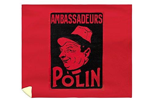 polin-vintage-poster-france-c-1905-88x104-king-microfiber-duvet-cover