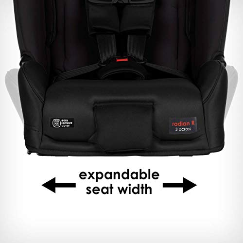 41OFD9rvGuL - Diono Radian 3RXT, 4-in-1 Convertible Extended Rear And Forward Facing Convertible Car Seat, Steel Core, 10 Years 1 Car Seat, Ultimate Safety And Protection, Slim Design - Fits 3 Across, Jet Black