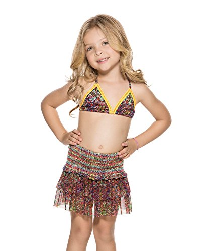 Agua Bendita Swimwear Bendito CEREMONIA Girls Skirt 4 by Agua Bendita