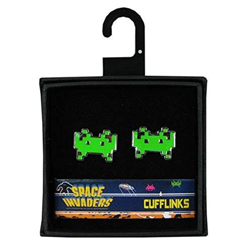 - 50Fifty Space Invaders Cufflinks Set
