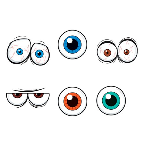 Eyeball Tattoos - Prizes and Giveaways - 144 per Pack ()