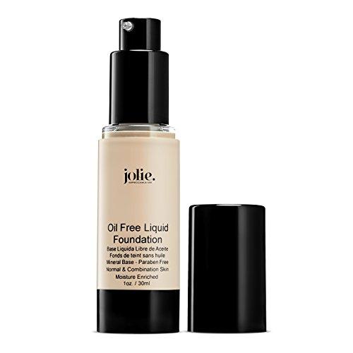 Jolie Oil Free Liquid Foundation - Matte Finish (FW-35 Tender Beige) (Liquid Minerals Foundation Bisque)