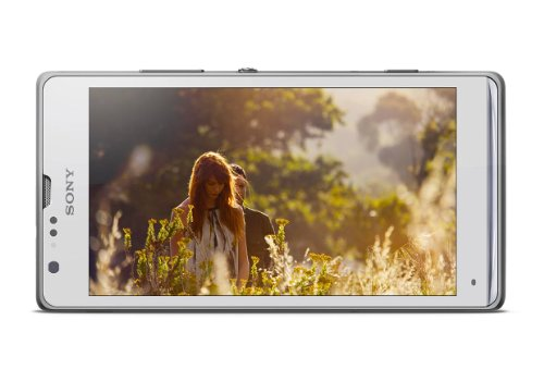 "Sony Xperia SP C5303 Smartphone - White (Factory Unlocked), 1.7GHz Dual Core CPU, 4.6"" HD Screen, 8 MP Dual Camera"