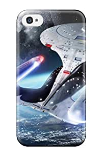 Fashion Tpu Case For Iphone 4/4s- Star Trek Defender YY-ONE