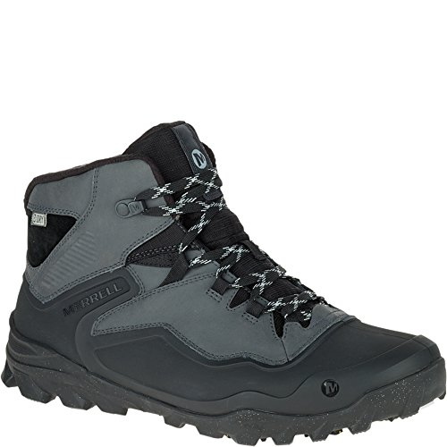 Merrell Men's Overlook 6 Ice + Waterproof Winter Boot, Granite, 7.5 M - Mens Boot Conductor