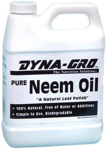 Dyna-Gro 704430 DYNEM032 Pure Neem Oil-32oz, 1 Quart