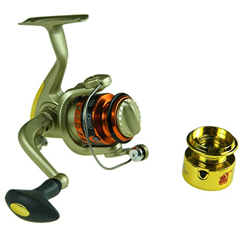 Huihuang Extra Spinning Fishing Reels , RD500AWheel for Freshwater Saltwater Fishing Lightweight Smooth Drag Powerful Spinning Fishing Reels