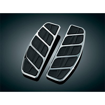 UPC 182682261198, Kuryakyn 4394 Chrome Kinetic Traditional Driver Floorboard Insert for Most Harley (KU 4394)
