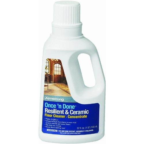 Armstrong Once And Done Resilient U0026 Ceramic Floor Cleaner Concentrate 32oz
