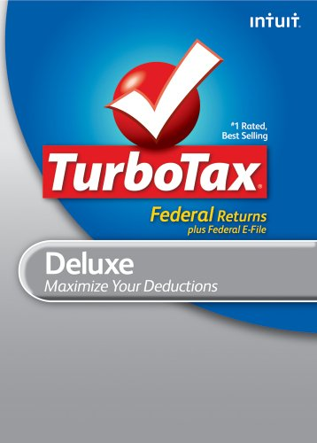 TurboTax Deluxe Federal + e-File 2010 [Download] [OLD VERSION] by Intuit
