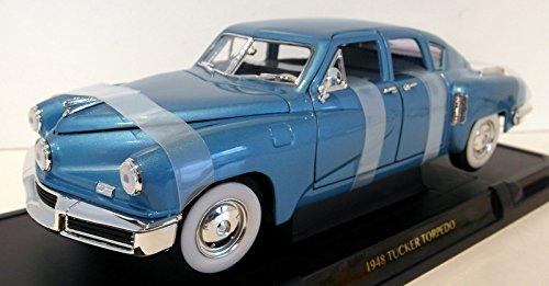 (Road Signature 92268 1948 Tucker Torpedo Blue 1/18 Diecast Model Car)