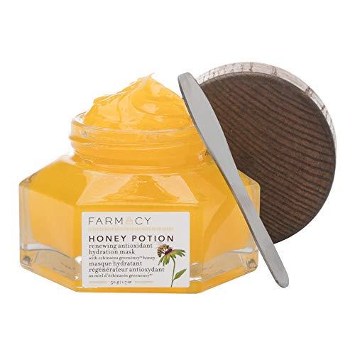 Farmacy Honey Potion Renewing Antioxidant Hydration Mask - Detox & Clear Skin Anti-Aging protection - Nourishes & Hydrates skin [1.7 OZ / 50g]