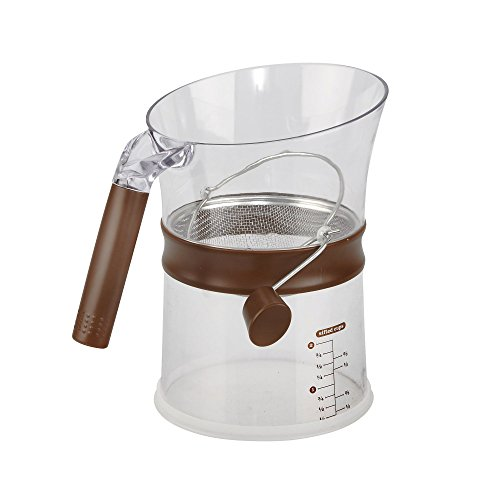Measuring Flour Sifter - Sweet Creations Sift and Measuring Cup, Clear