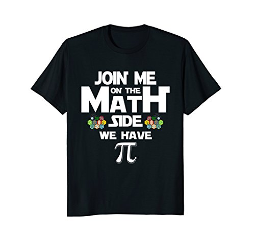 Join Me On The Math Side We Have Pi Funny Pi Day Cool Gift