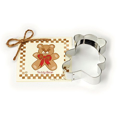 teddy bear cookie cutters shapes - 6