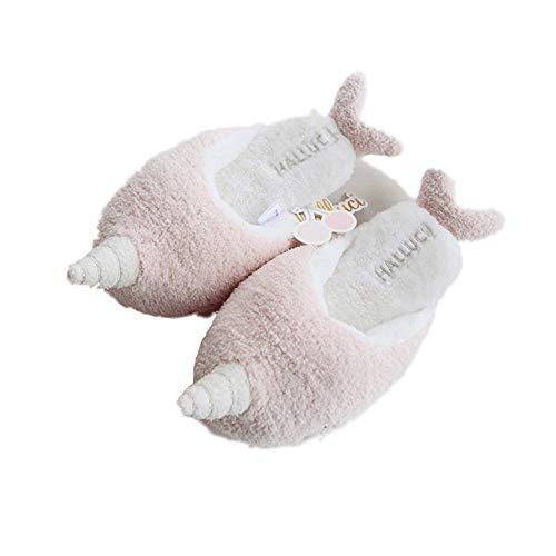 Pink Mmllse Cotone In Interno Pantalone Pantofole E Donna Morbide Calde Per q6wpqATx