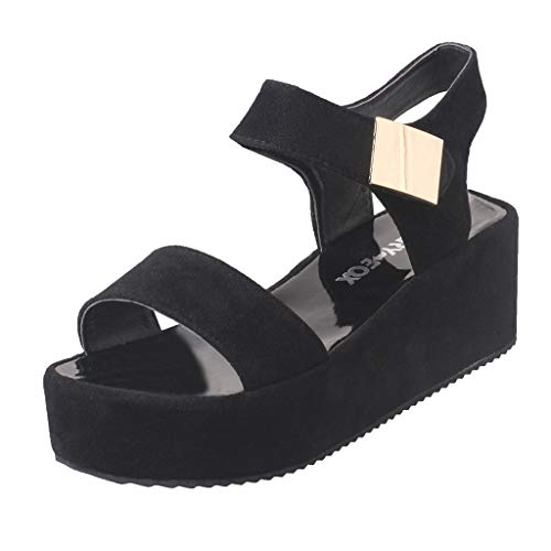 (Women Ladies Dancing Rumba Shoes,LuluZanm Waltz Prom Ballroom Latin Ballet Dance Singles Shoes Black )