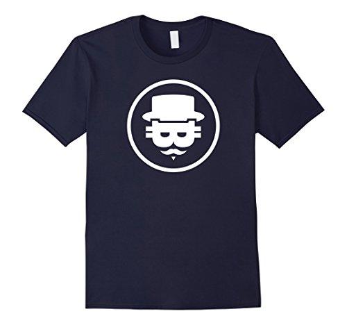 Mens Bitcoin Mystery Face Medium Navy Mystery Face