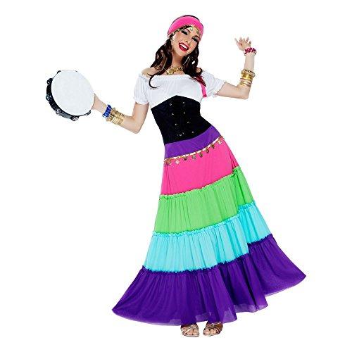 Renaissance Gypsy Adult Costume (Gypsy Princess Fancy Dress)