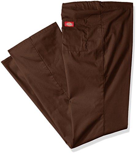 (Dickies Men's Big and Tall EDS Signature Unisex Drawstring Scrub Pant, Chocolate Medium)