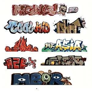 Blair Line HO Scale Graffiti, Mega Set (Blair Line Ho Scale Building)