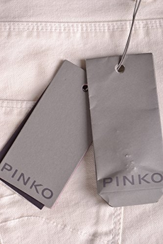Pinko Jeans Mcbi242039o Cotone Bianco Donna wBwf1nqxz