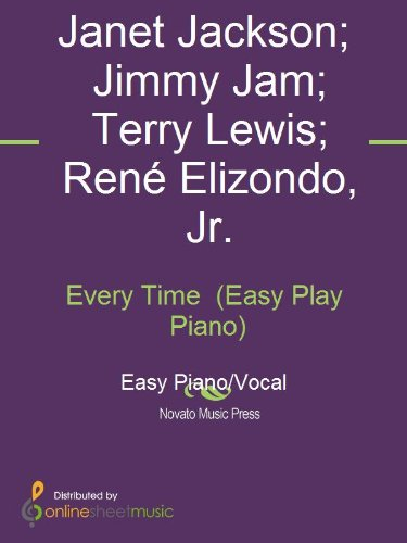 Download Every Time (Easy Play Piano) book pdf | audio id:hkuy19r