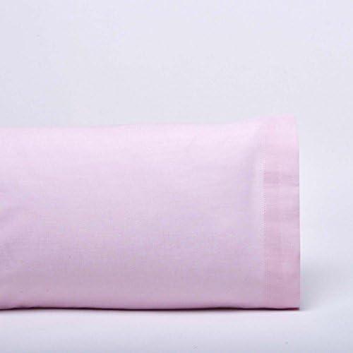 VIP COTTON Funda Almohada 150 Hilos Rosa Don algodón: Amazon.es ...