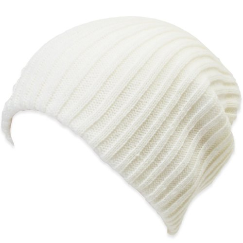 ililily Stretch Knit Beanie Skullies Winter Hat Sports Accessory Running Beanies (beanie-001-8) ()
